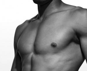 Morfología zona pectoral masculina