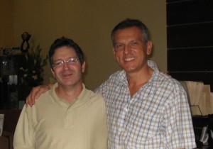 Dr Armengou con Dr J. Cohen, Clinica Rosenstock San Jose, Costa Rica