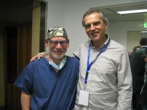 Dr Armengou con el Dr Steve Cohen - Curso Roma 2016