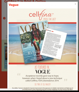 Cellfina Vogue April2016